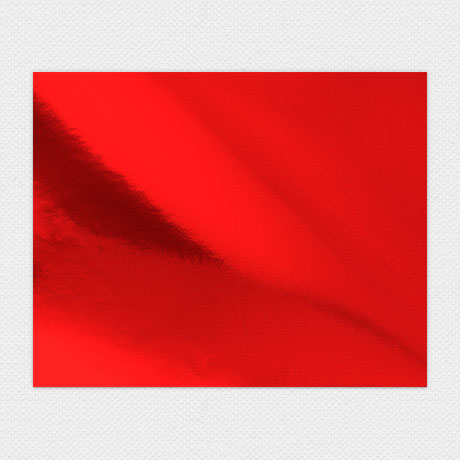 Photo of Red Foil Sheet