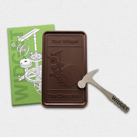 Photo of 1 lb Engraved Belgian Chocolate Bar