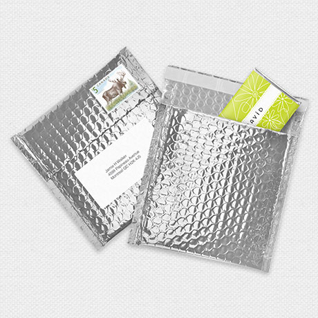 Photo of Silver Bubble Mailer